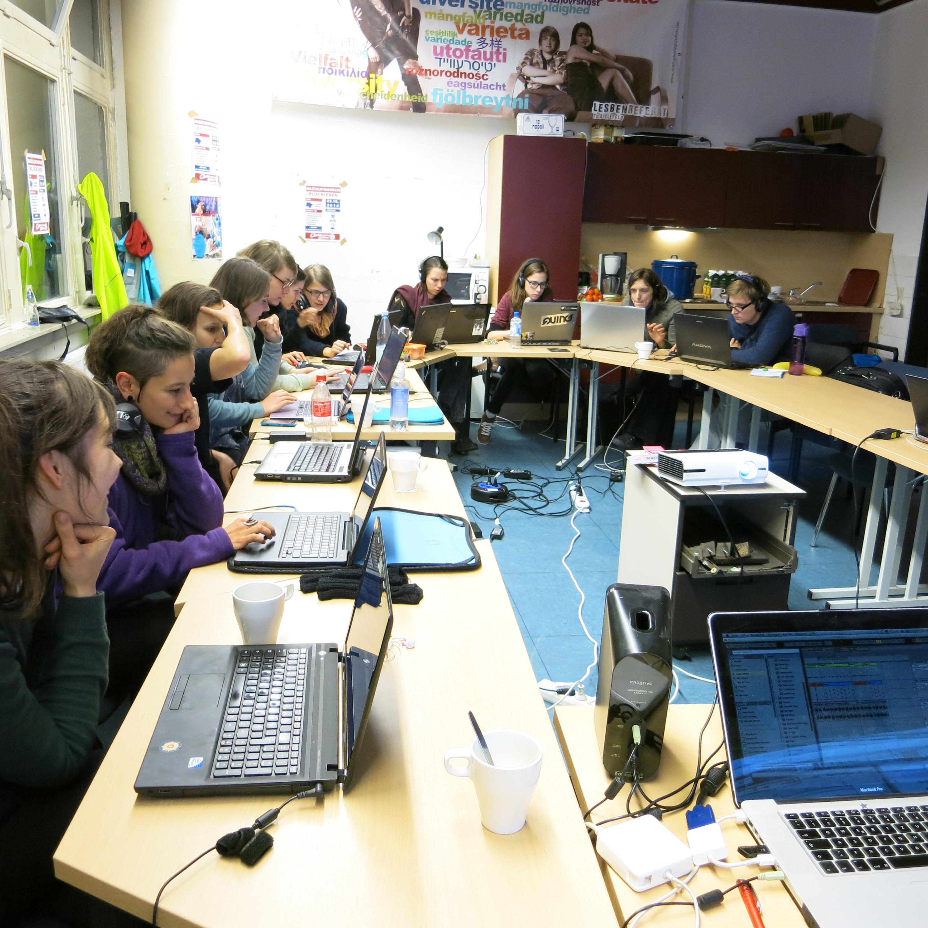 Aktionstage Bielefeld Ableton Workshop 1