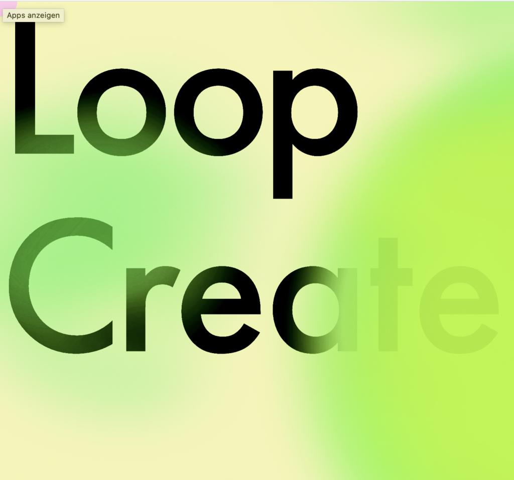 Loop Create