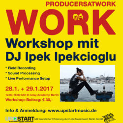 Producers At Work - mit DJ Ipek