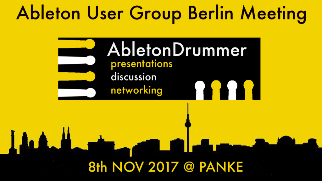 abletondrummer@AUGB yellow
