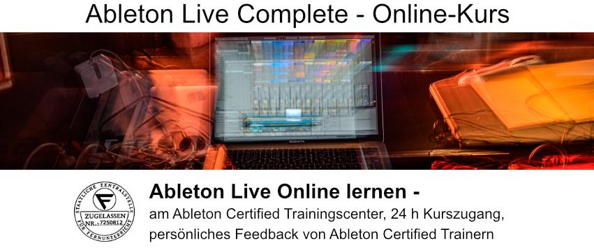 Ableton Online Kurs