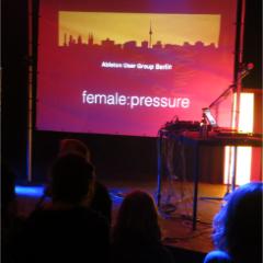 female:pressure panel